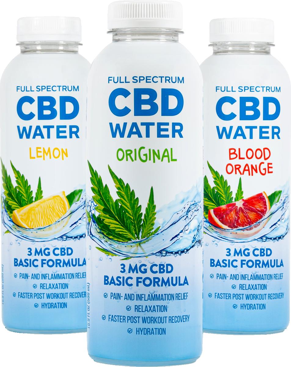 Aidvian Full Spectrum CBD Water